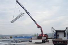 Nalaganje, prevozi, pretovarjanje strojev in opreme do teže 10 ton